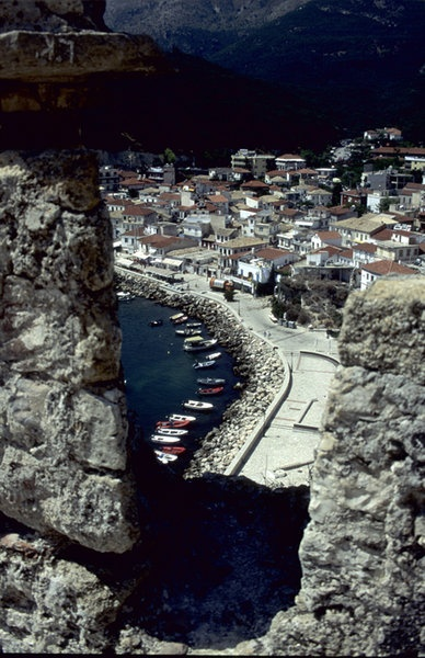 Lesvos: view from Molyvos castle