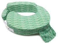My Brest Friend Nursing Pillow   Green Rainforest Geometric Pattern