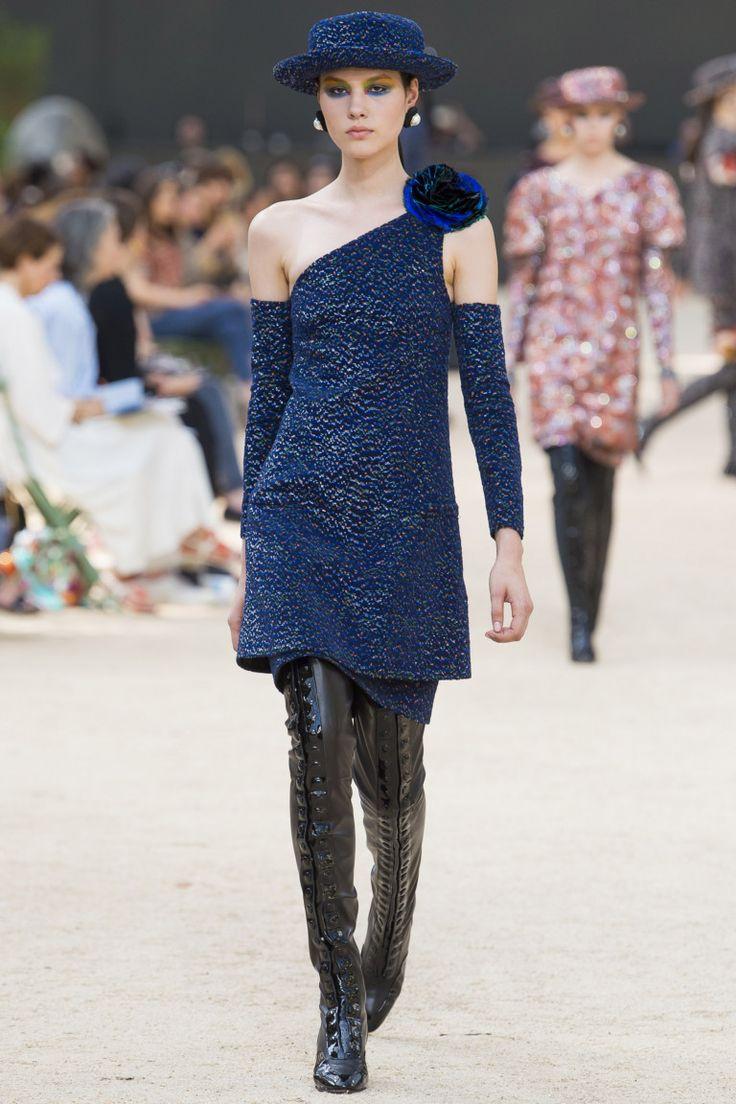 Chanel, Осень-зима 2017/2018, Couture, НЕДЕЛЯ МОДЫ: Париж