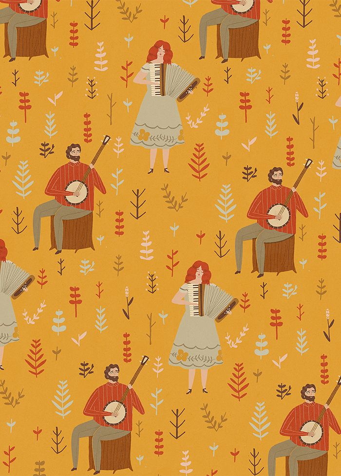 lagom wrapping paper. naomi wilkinson.