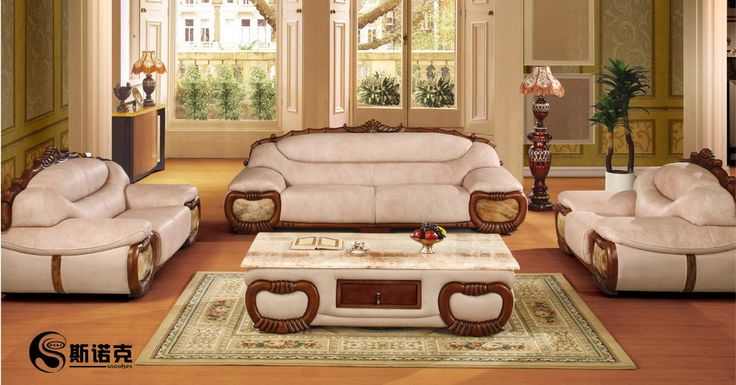 Luxury white leather sofa set designs for living room with hardwood floors