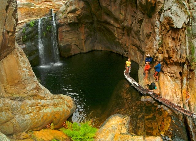 Cedar Falls hiking trail, Baviaanskloof - SOUTH AFRICA