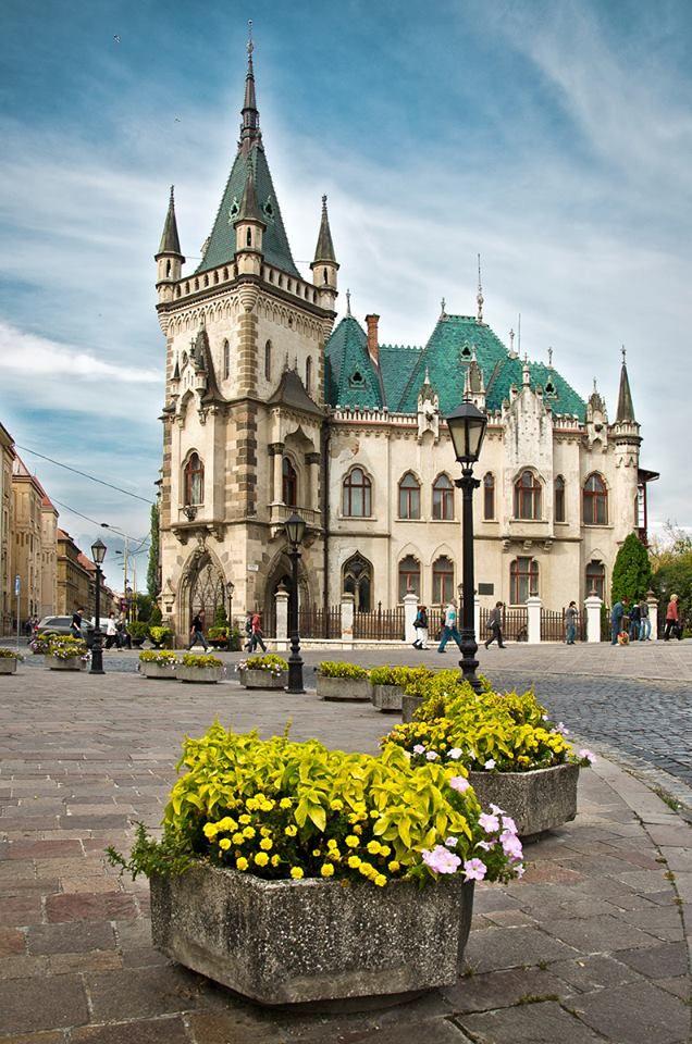 Visit Kosice ~ Jakab´s Palace
