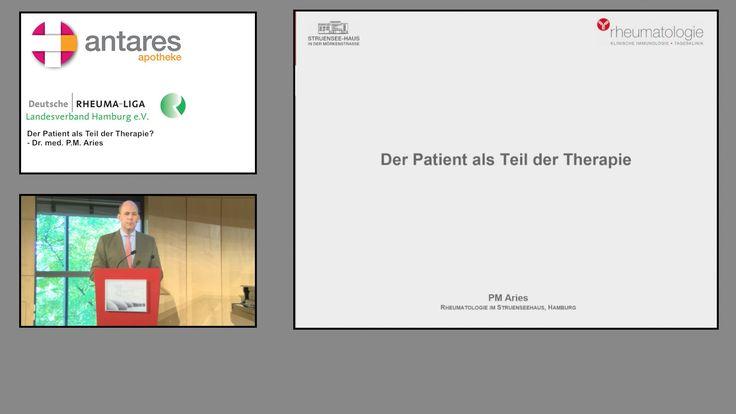 Welt Rheuma Tag 2015 - Der Patient als Teil der Therapie? (Dr. med. P.M. Aries) - YouTube