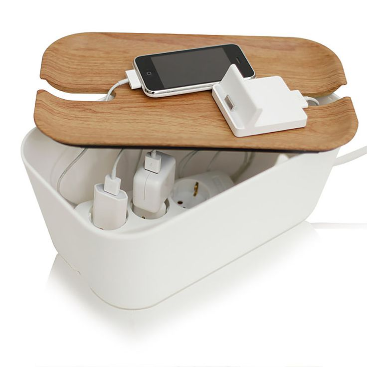 top3 by design - Bosign - hideaway cable manager white natural