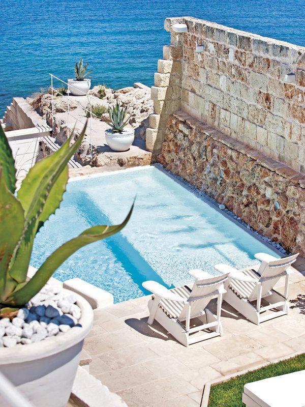 Momento de relax en la #piscina del #hotel Don Ferrante