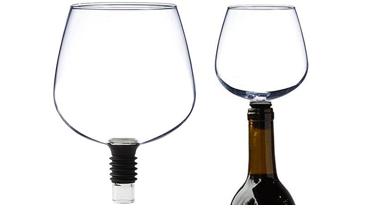 Just what's needed on Friday afternoon!!! Guzzle Buddy Turns Wine Bottles Into Wine Glasses So You Can Sip Without Shame
