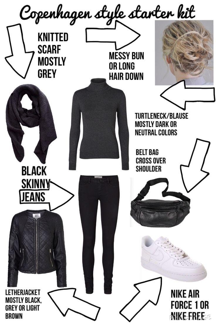 Copenhagen style starter kit for teenage girls