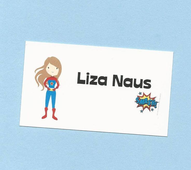 Super Hero Girl Calling Cards - Choose Your SuperHero - SuperHero Treat Bag Tags, Superheroes Gift Enclosures Cards, Super Heroes Favor Tags by CardsByKooper on Etsy