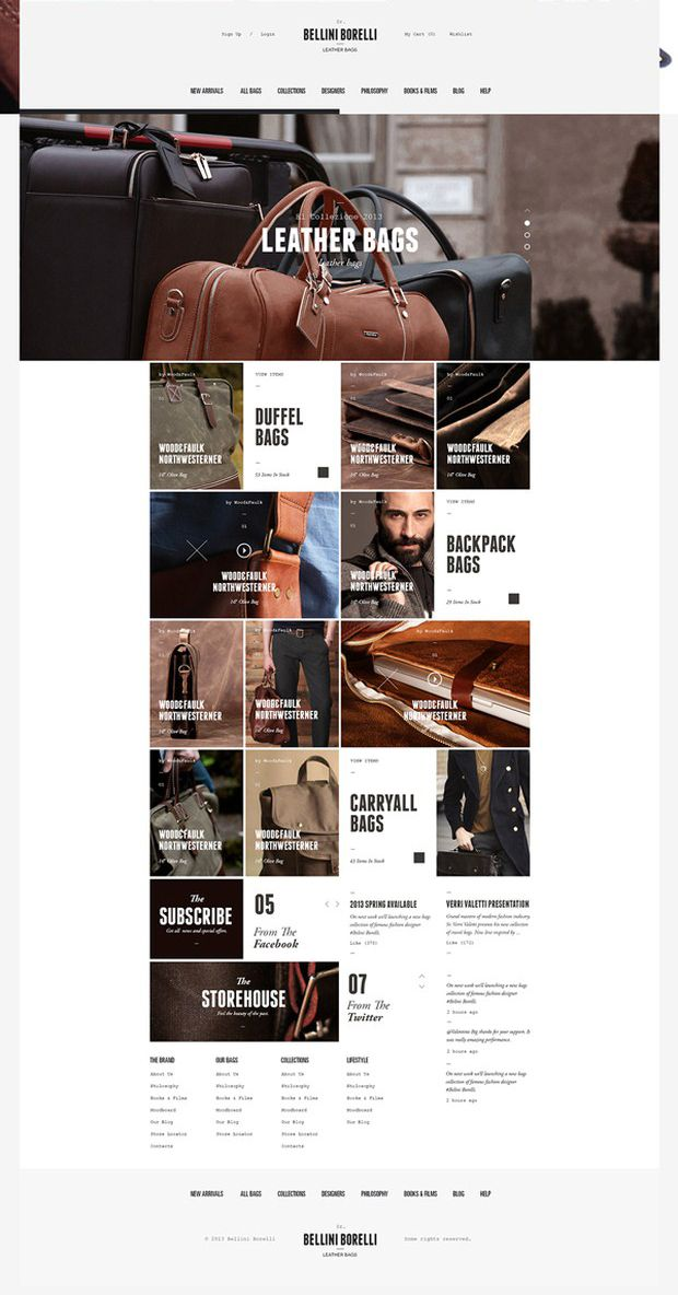 Web Design Inspiration 02 Weekly Web Design Inspiration #36