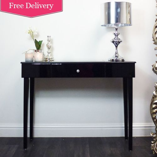 Contemporary Designed Console Table With Single Storage