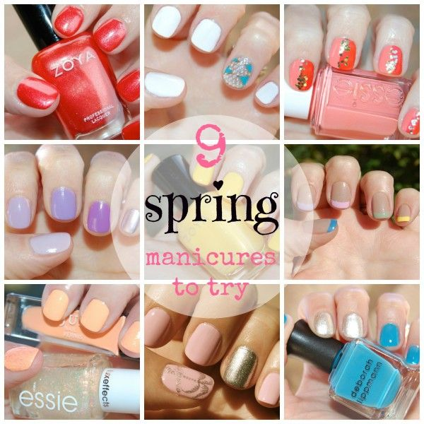 the stylish housewife - 9 spring manicure ideas