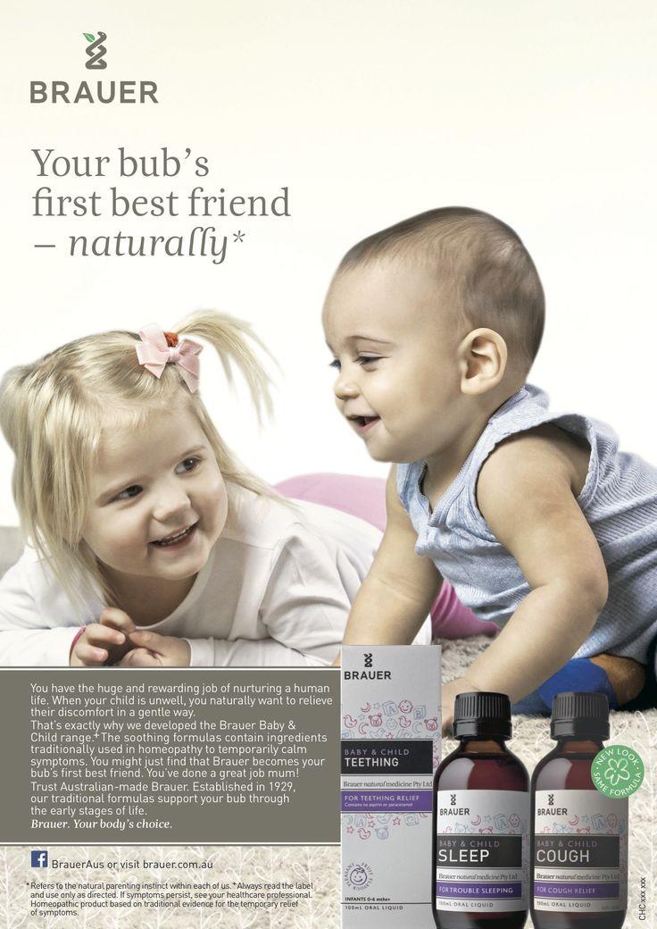 The Brauer Baby & Child range, Your bub's first best friend