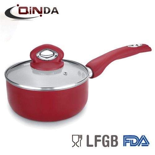 cermaic inner saucepan with factory price and glass lid from YongkangQindaIndus on YYUber.com