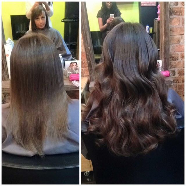 Award Winning salon ✨✨✨ Short to Long ✂️ Before + After makeover with @vividhairextensions using #beautyworks CelebrityChoice® pre-bonded application for long lasting wear ✔️✔️ we recommend our VIP Salons for the very best in hair extensions ✨Based in Northampton  #instahair  #beautyworks #northamptonhairextensions #beautyworksvip #midlandshairextensions #HairExtensionSalon #hairgoals #hairenvy