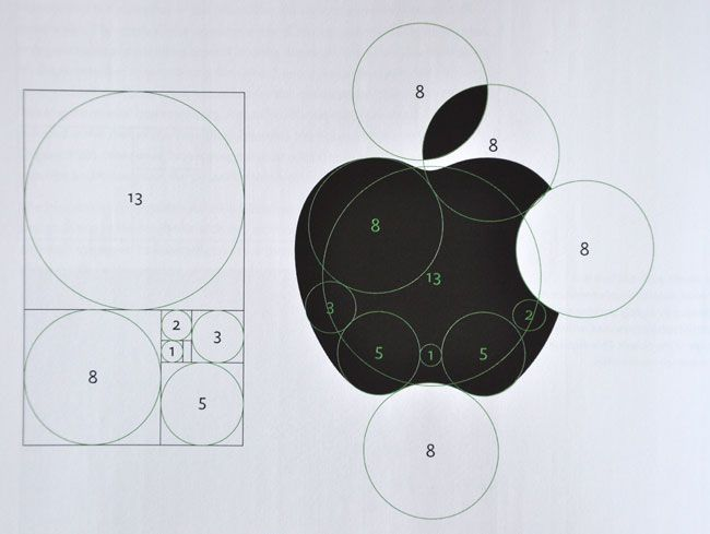 Apple Logo Grid (Golden Section)