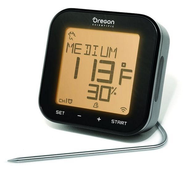 Oregon Scientific AW133 Grill Right Bluetooth BBQ Thermometer perfect for Father's Day!