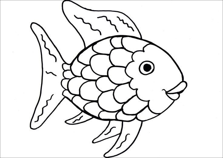 The 25+ best Rainbow fish template ideas on Pinterest