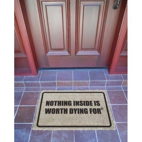 Security Alarm Door Mats