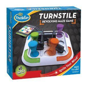 $21.00 Thinkfun Turnstile Puzzle: Amazon.ca: Toys & Games