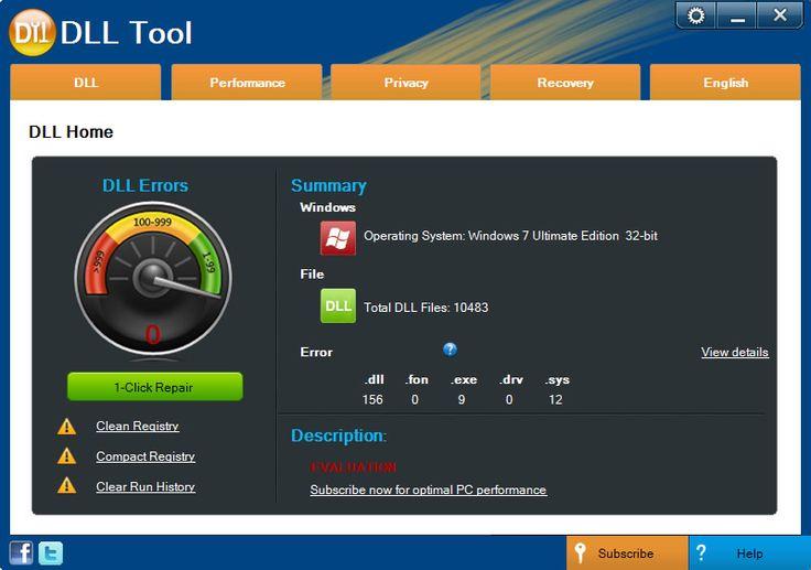 DLL Tool - How to fix corrupt Ntdll.dll errors
