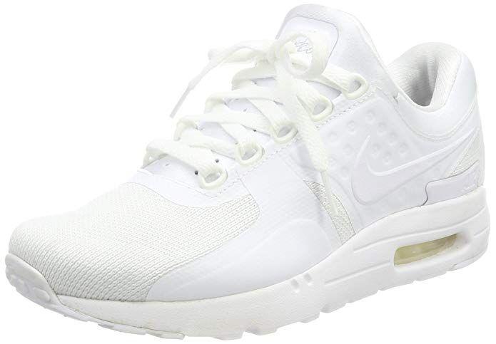 Nike Air Max Zero Essential Sneakers Herren Komplett Weiß in