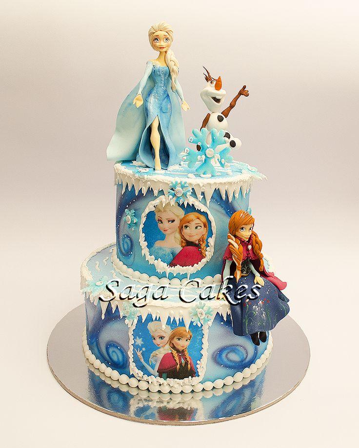 Frozen https://www.facebook.com/saga.cakes #tortesaga #tortebeograd #frozen