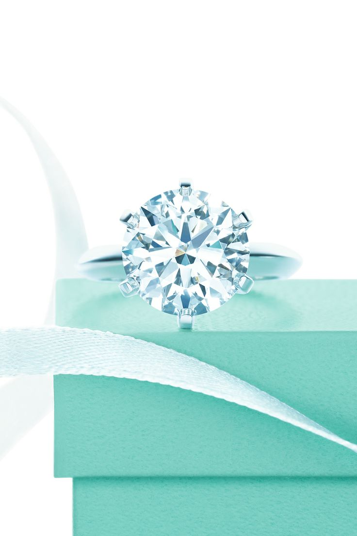 The legendary Tiffany® Setting, which introduced the engagement ring as we know it today. #TiffanyPinterest