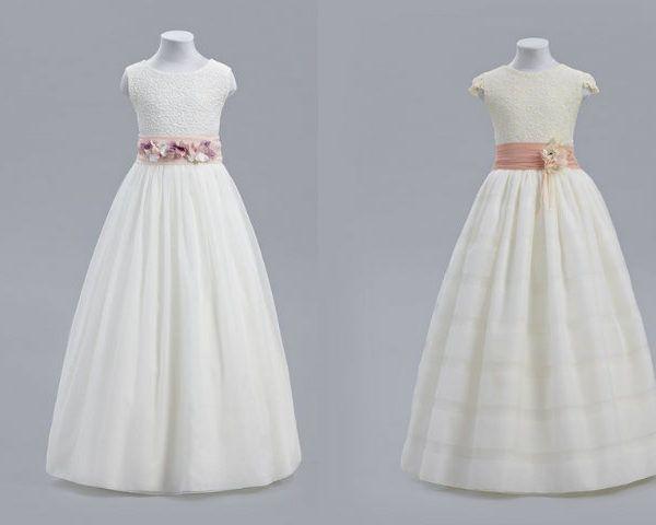 Resultado de imagen para vestidos de primera comunion sencillos sin mangas