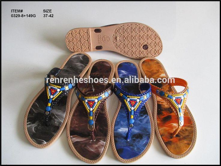 2017 new design lady sandal cheap wholesale flip flops women Summer beach slipper