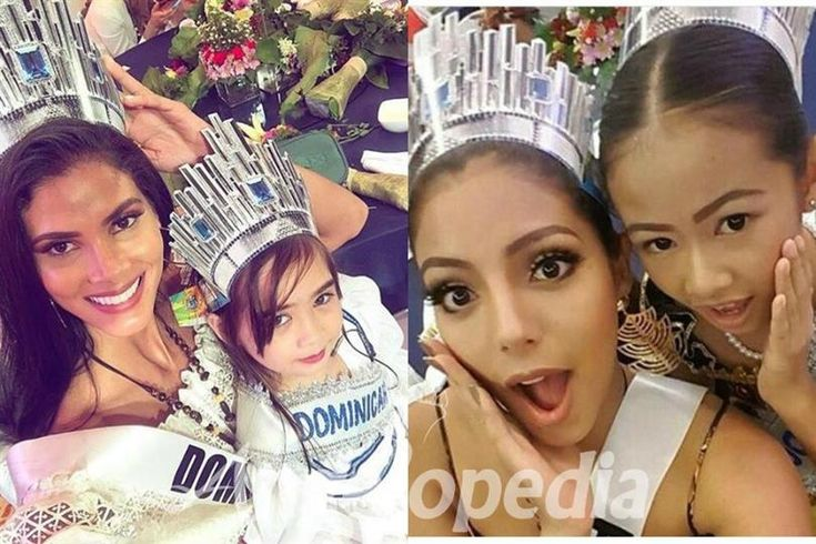 Miss Universe 2016 delegates candid pics with Little Sisters