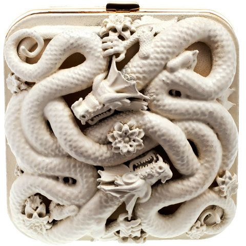 pucci dragon evening clutch