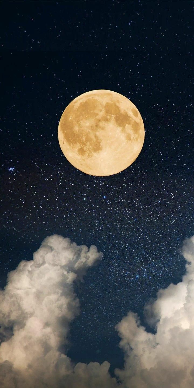 imgur.com in 20   Night sky wallpaper, Moon art, Moon and stars ...