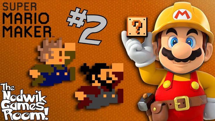 Super Mario Maker - #2 -Let's Play Online!