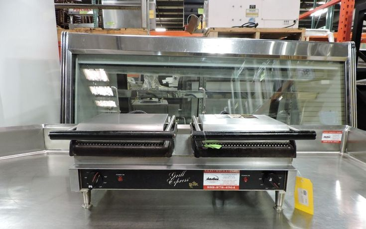 Star GX20IG Grill Express™ Commercial Sandwich Grill / Panini Press #Star