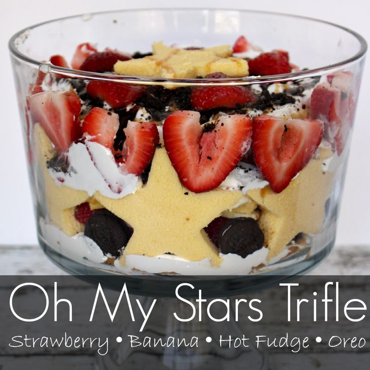 Oh My Stars Trifle - Super Easy Trifle Recipe - Princess Pinky Girl