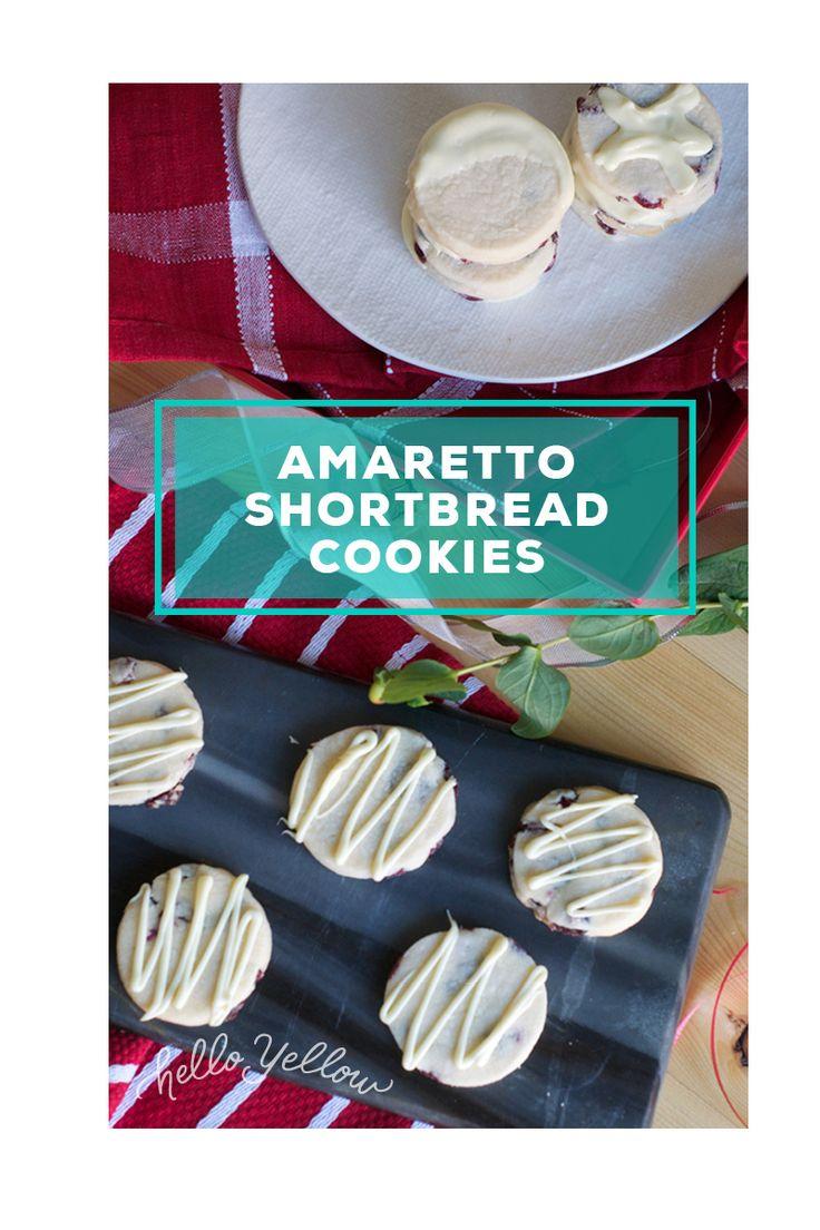 Amaretto Shortbread Cookies #LeonsHelloHoliday