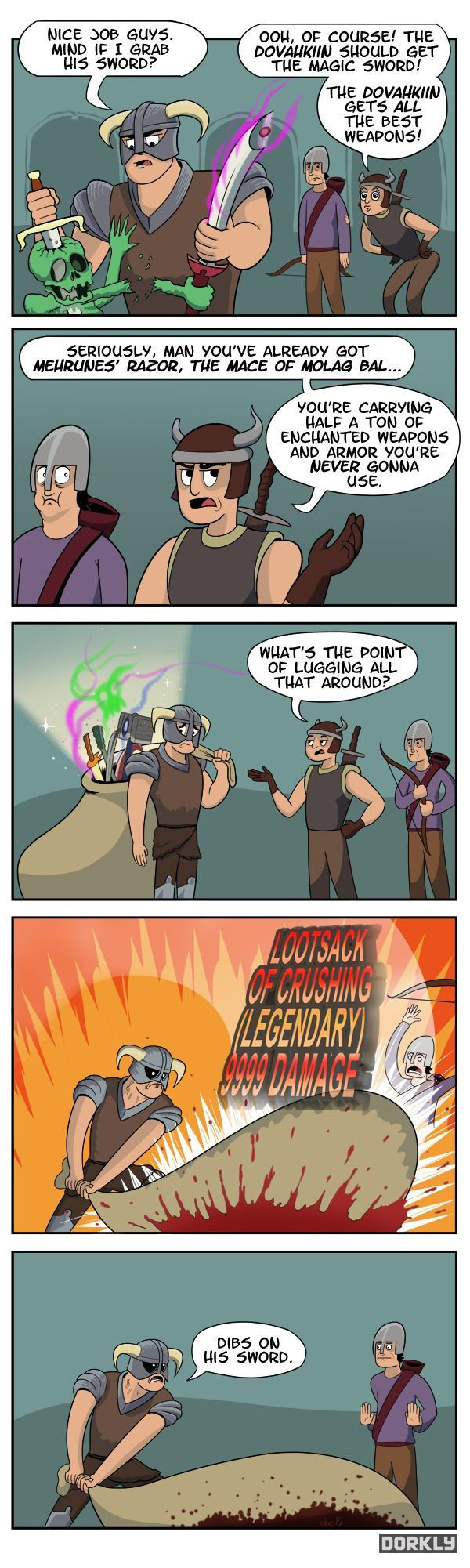 Skyrim comic  