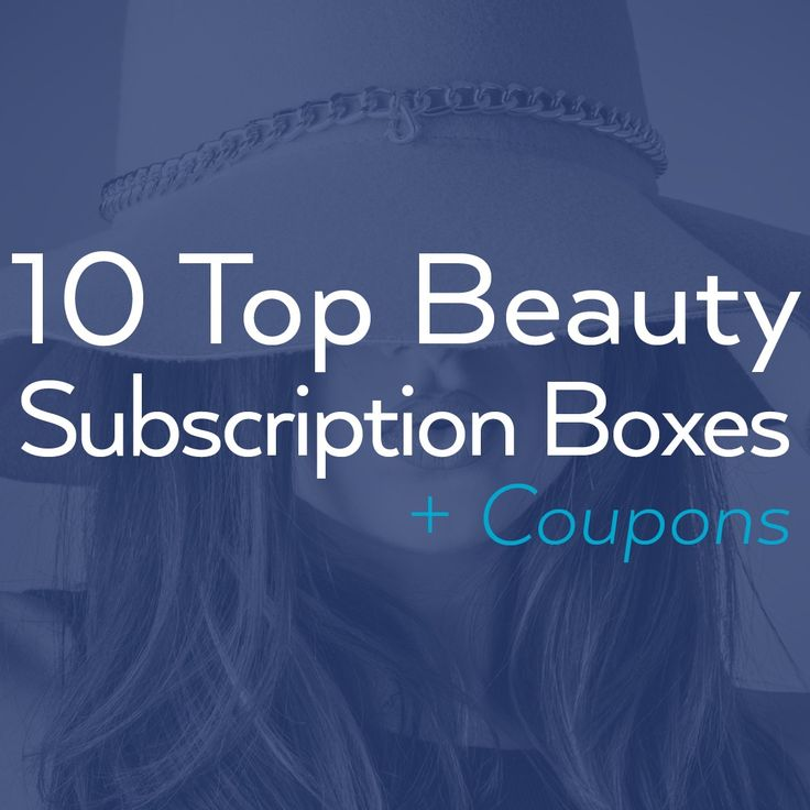 Get gorgeous with these 10 Top Beauty Subscription Boxes with Coupons list on on the #couponcause site. Find out the top and best #beauty #coupon deals on sites like #Baublebox #Cocotique #GLOSSYBOX #Scentbird and more. What's your favorite beauty subscription box guys?
