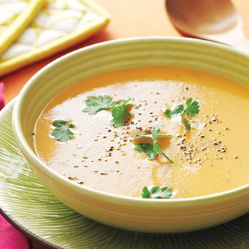 Caribbean Sunset Soup Recipe - Fresh Juice