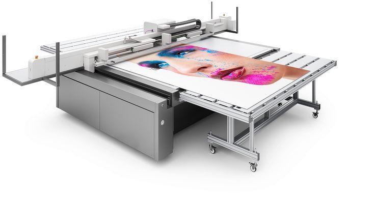 Board Option: per ingrandire il piano di stampa delle stampanti UV flatbed swissQprint fino a 3,2 x 4 m