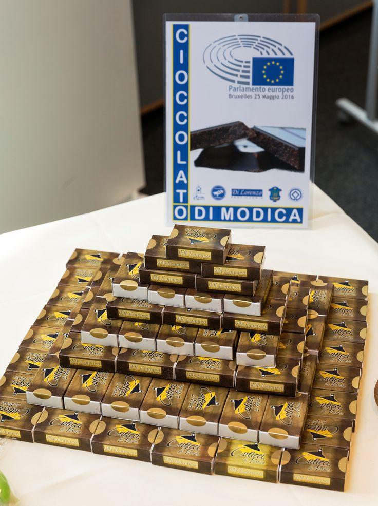 Il cioccolato di Modica al Parlamento Europeo