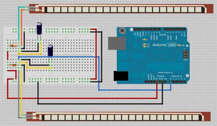 Projeto: Controle servomotor com as mãos utilizando sensor flex e Arduino – Laboratorio de Garagem (arduino, eletrônica, robotica, hacking)