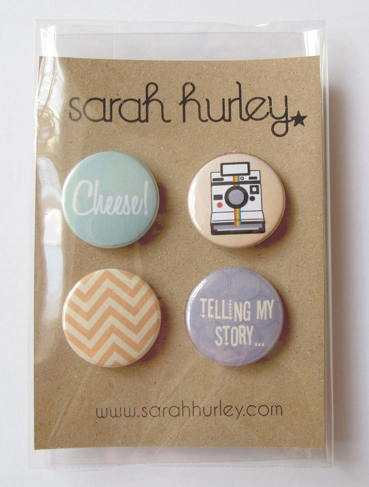 Buttons - by Sarah Hurley