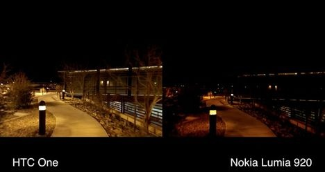 HTC One vs. Nokia Lumia 920 Camera Comparison [Video]