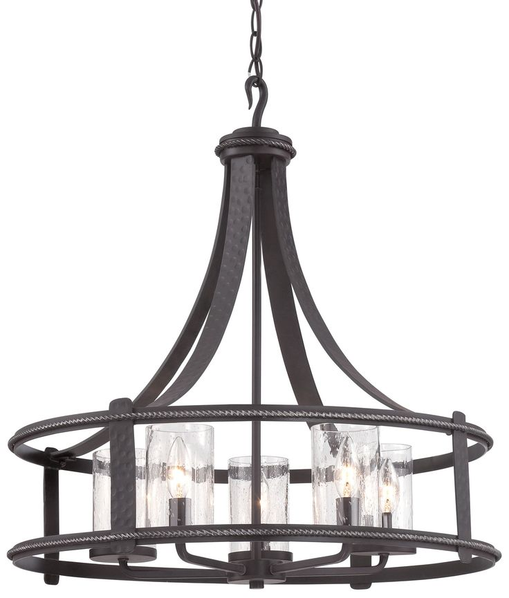 Designers Fountain 87585-APW Palencia Transitional Chandelier DF-87585-APW