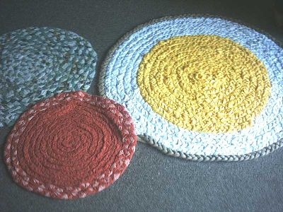 Geflochtener Teppich - creadoo.com