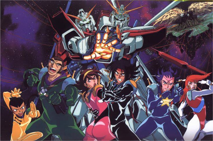 17 best images about animanga g gundam on pinterest the for Domon vs master asia