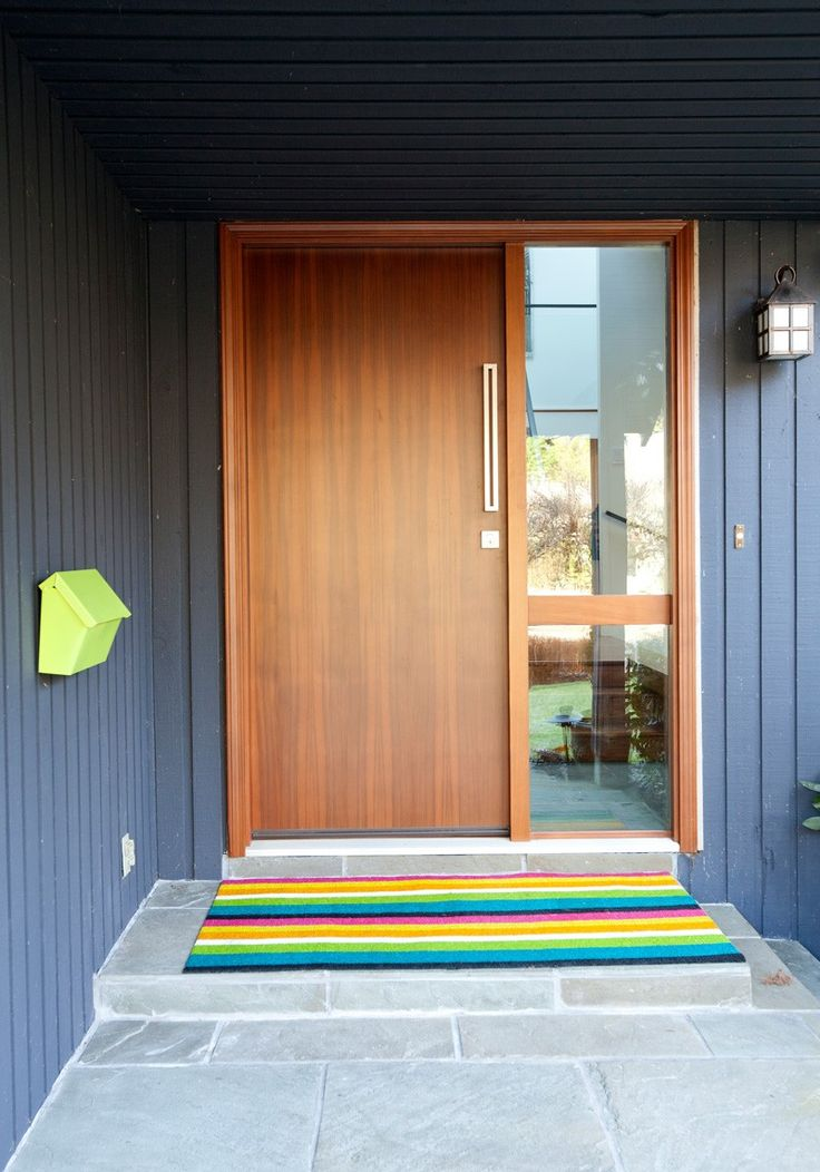 25 best ideas about modern front door on pinterest for Design your own front door