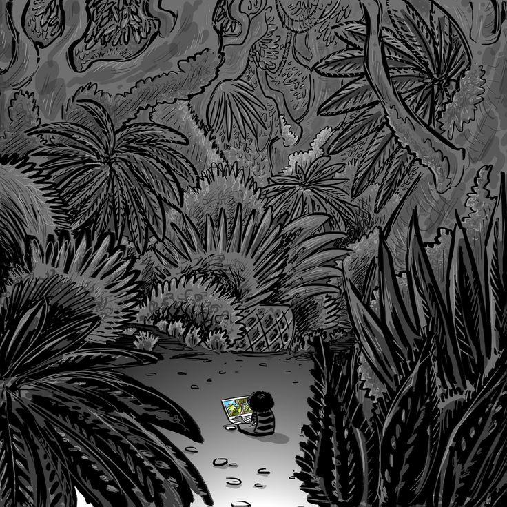 "Illustrazione finalista di ""Tapirulan 2013"" Tema: eden"